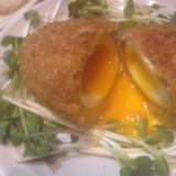 半熟卵のスコッチエッグ