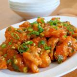 鶏むね肉でヘルシー♪鶏チリ(レシピ動画)