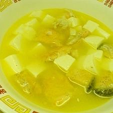 鮭の豆腐汁