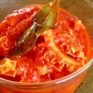 柔らかい☆トリッパ(ハチノス)のトマト煮込み
