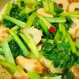 小松菜と竹輪の煮物
