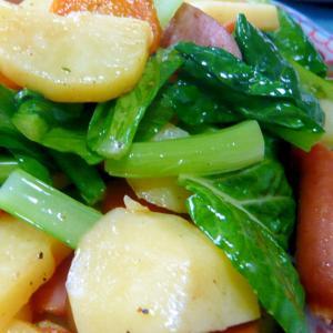 ♥ ウインナー&お野菜のバターソテー ♥