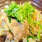 ヘルシー温野菜♪「さっぱり蒸し豚野菜」