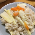 白だしを使って簡単・美味しい☆筍ご飯☆