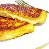 簡単フレンチトーストハムチーズ