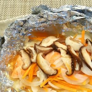 ☆フライパンで☆鮭のバタポンホイル焼き
