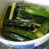 小さな野菜のおかず★きゅうりの辛子漬け