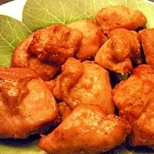 鶏むね肉のにんにく香味焼き