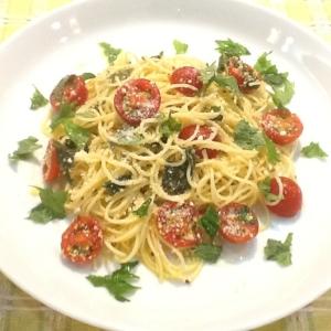 ミニトマトの冷製カッペリーニ