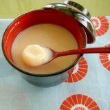 ミルキー♥白いお汁粉