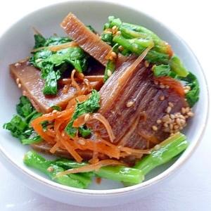 トトリムクチム どんぐり豆腐の和え物