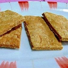 カリカリおから&黒糖クッキー