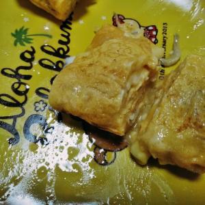 チーズとジャコの玉子焼き