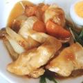 甘辛タレで☆鶏肉と卵の照り焼き