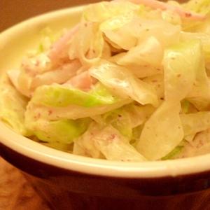 しっかり下味☆大人のコールスローサラダ