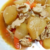 簡単♪豚肉と冬瓜の焼肉のタレ煮込み