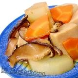 ほろ苦旨い 高野豆腐と大根甘煮