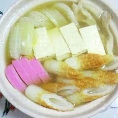 大根も入れた、湯豆腐鍋~ (^○^)