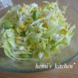 春キャベツと新玉ねぎのサラダ