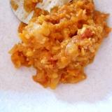 レンズ豆のトマト煮