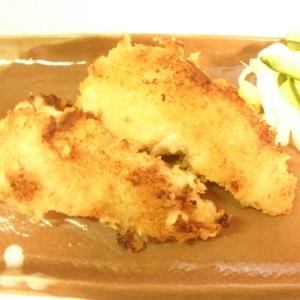 簡単☆白身魚のパン粉焼き