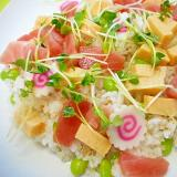 マグロと枝豆のちらし寿司