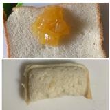 ランチパック風♪マーマレードジャムとチーズのサンド