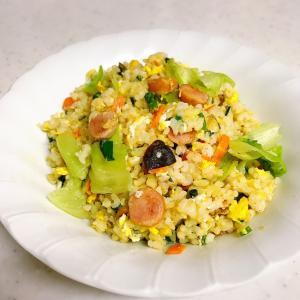 玄米のレタス炒飯✨✨
