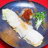 野菜でメイン!白菜ステーキ:大根おろし添え