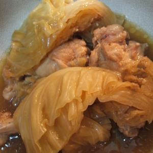 鶏手羽とキャベツの味噌煮