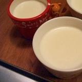 子どもも喜ぶ、混ぜるだけミルクプリン