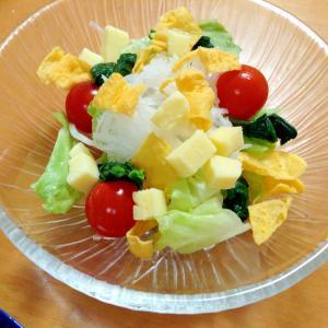 大根・卵・チーズサラダ