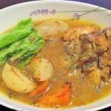 札幌スープカレー風★圧力鍋で手羽元のスープカレー