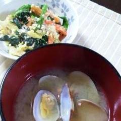 基本★あさりの味噌汁