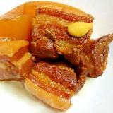 大根と豚バラ肉のこってり角煮