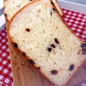 HBで!ラムレーズンの食パン★