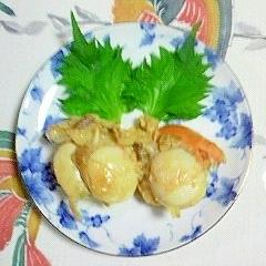 帆立のバター焼き~(*^O^*)