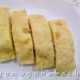 レンジで作る☆バナナ蒸しパン