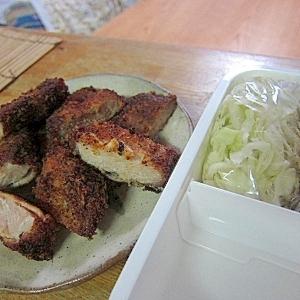 豚かつキャベツ弁当