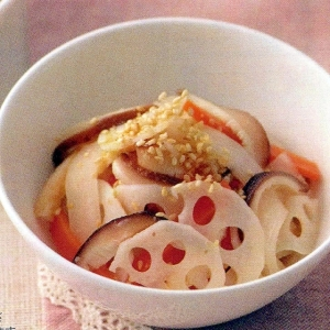 根菜の炒めなます