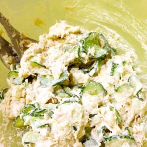 ナッツで美味しい!ツナマヨナッツのサラダ