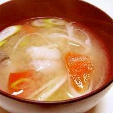 たらの味噌汁