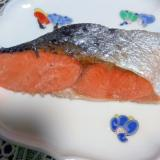 甘塩鮭の酒蒸し煮