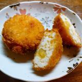 豆腐と薩摩芋のコロッケ