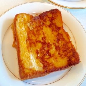 【フレンチトースト】甘さ控えめ♪