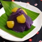 甘さひかえめ・彩り鮮か・お正月に‼紫芋の栗きんとん