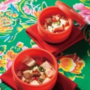 [ル・クルーゼ公式] レンジで作るさっぱり麻婆豆腐