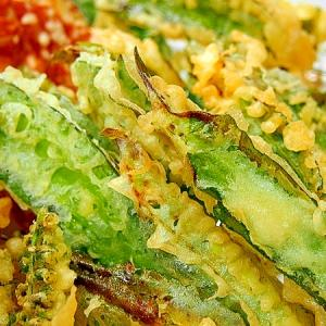 四角豆の天ぷら