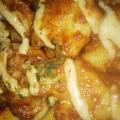 鶏肉のたらこマヨネーズパン粉焼き