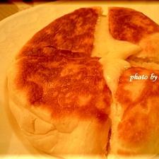 フライパンでチーズとろ~りナン!!